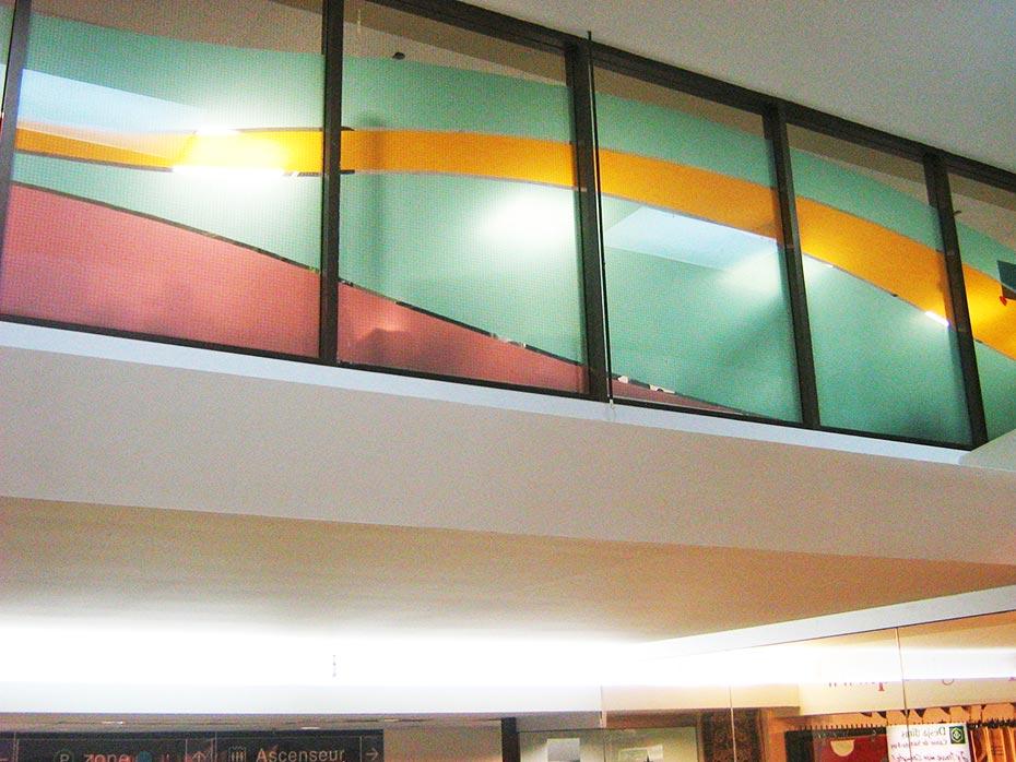 Pellicule décorative couleur et découpe numérique